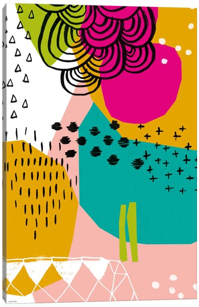 Geometric Patterns Canvas Art Print