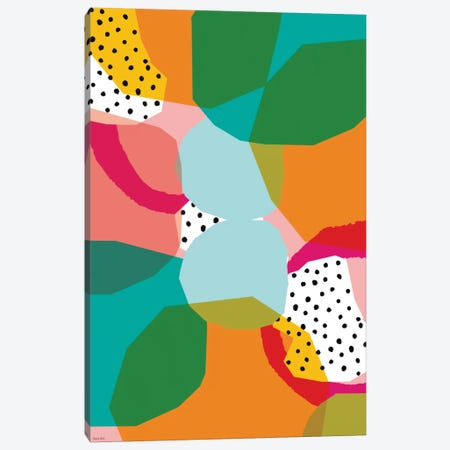 Geometric Shapes Canvas Print #PMI17} by Sweet William Canvas Art Print