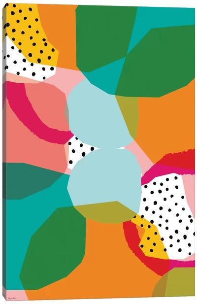 Geometric Shapes Canvas Art Print