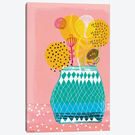Geometric Vase Canvas Print #PMI18} by Sweet William Canvas Art