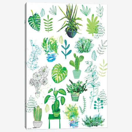 All My Plants Canvas Print #PMI1} by Sweet William Canvas Art