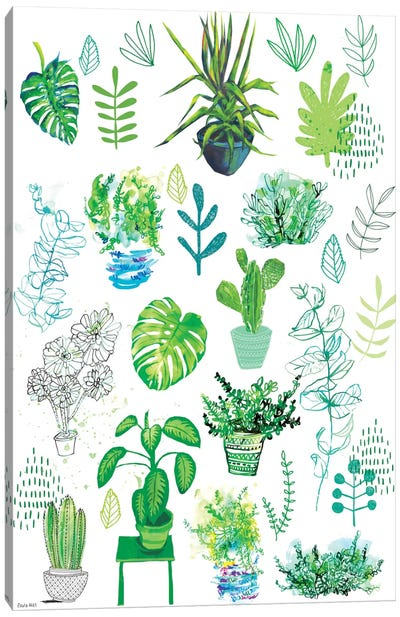 All My Plants Canvas Print #PMI1