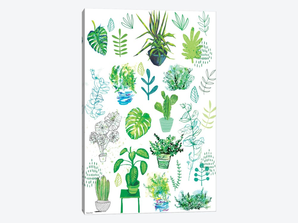All My Plants by Sweet William 1-piece Canvas Art