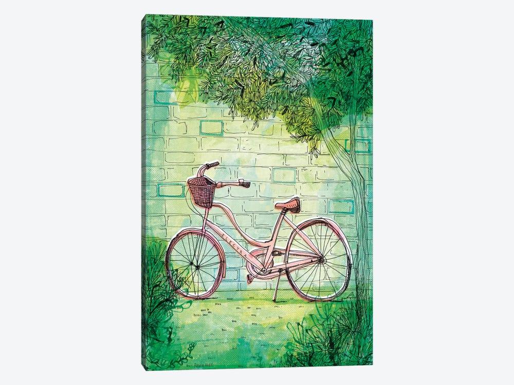 Happy Bike by Sweet William 1-piece Canvas Art Print