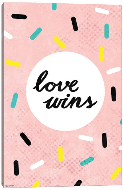 Love Wins Canvas Art Print