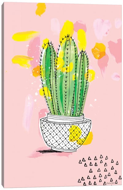 My Favourite Cactus Canvas Art Print