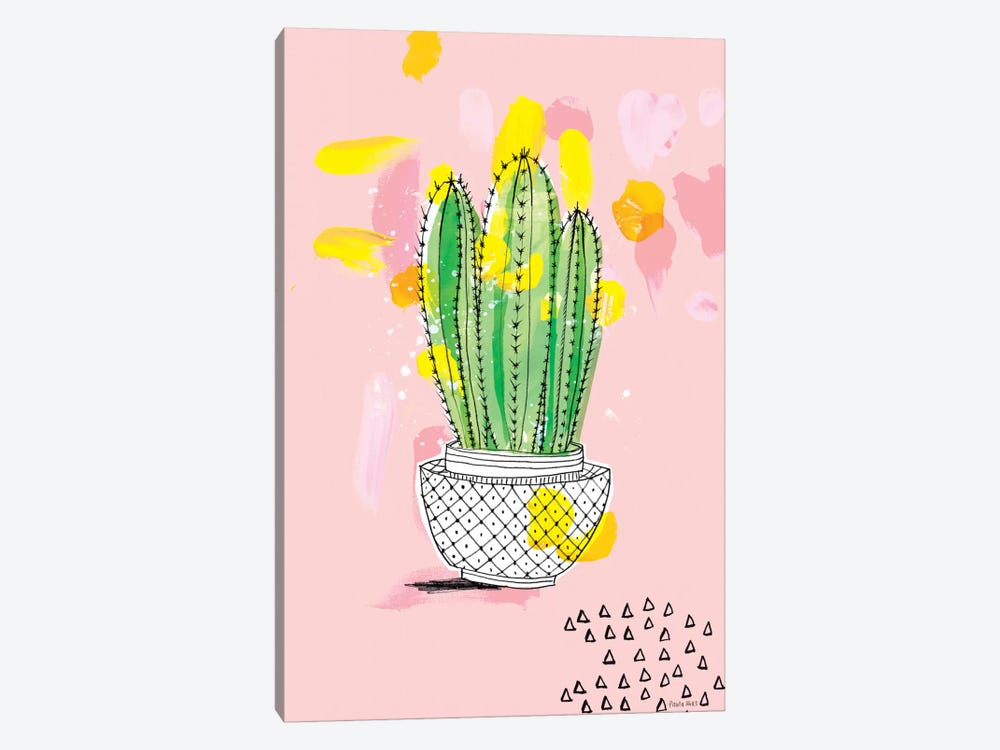 My Favourite Cactus by Sweet William 1-piece Canvas Print