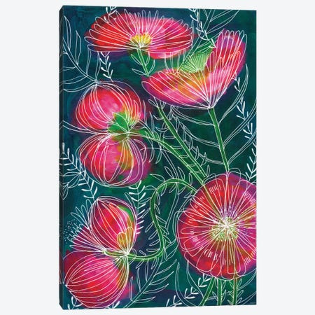 Always Flowers Canvas Print #PMI2} by Sweet William Canvas Wall Art