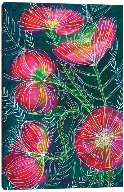 Always Flowers Canvas Art Print