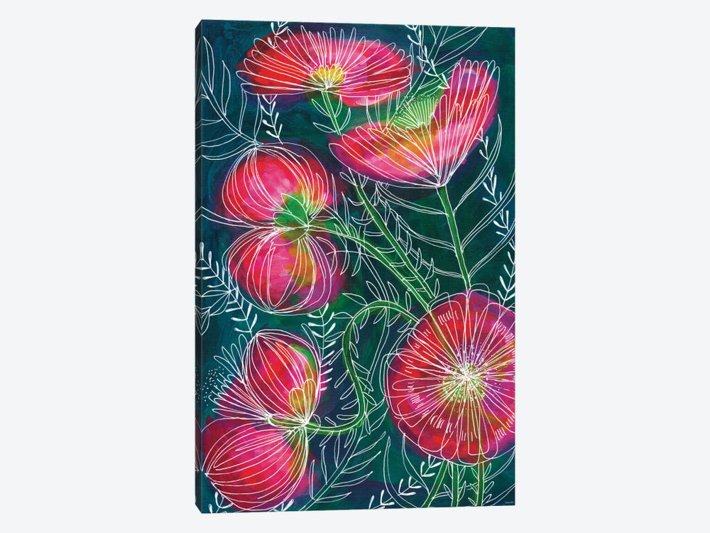 Always Flowers by Sweet William 1-piece Art Print