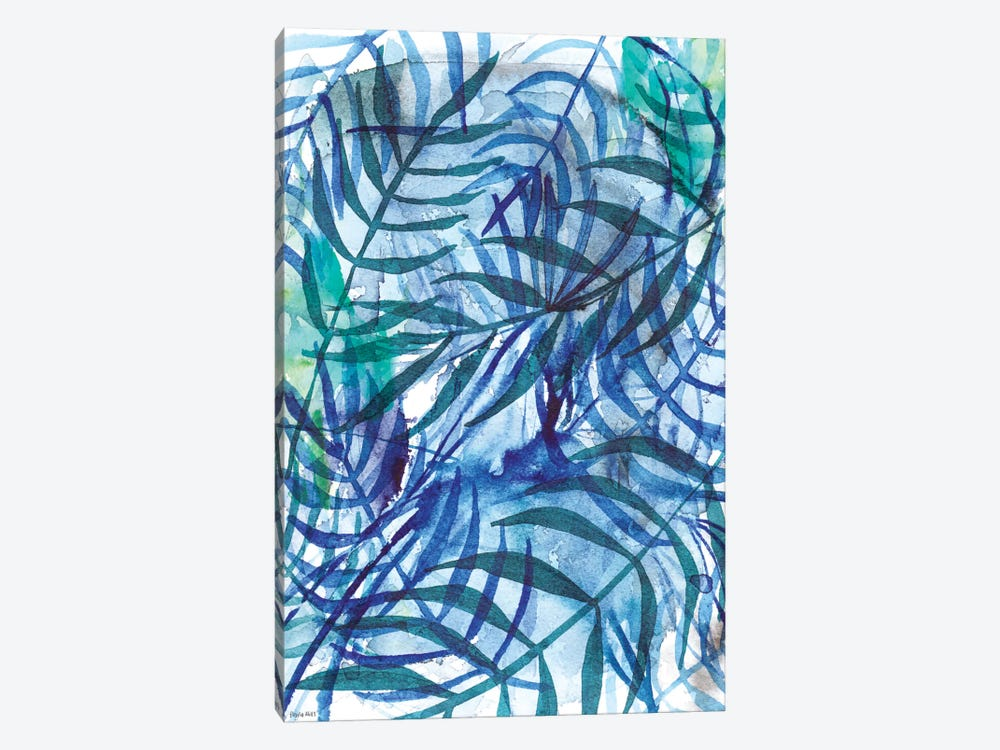 Nature In Blue III by Sweet William 1-piece Canvas Art