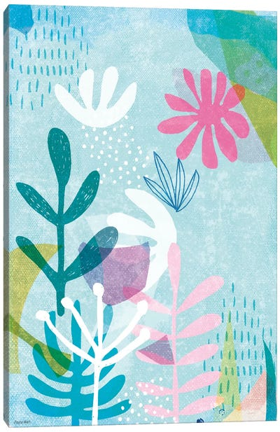 Organic Shapes I Canvas Art Print