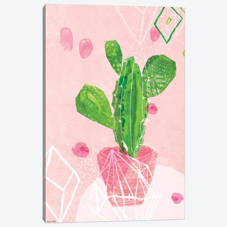 Pastel Catcus Canvas Print #PMI36} by Sweet William Art Print