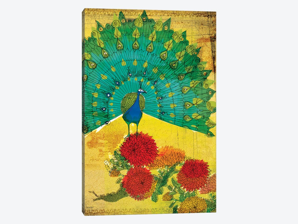 Peacock by Sweet William 1-piece Art Print