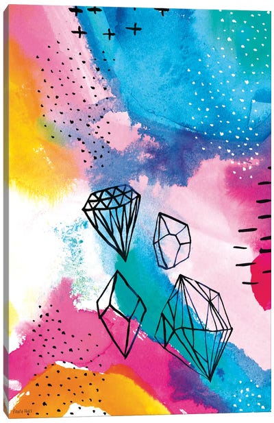 Shine Bright I Canvas Art Print