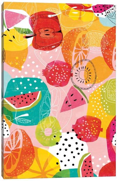 Summertime Canvas Art Print
