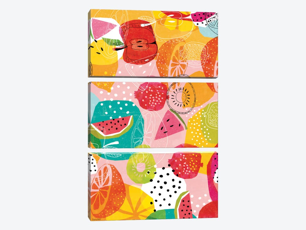 Summertime by Sweet William 3-piece Canvas Wall Art