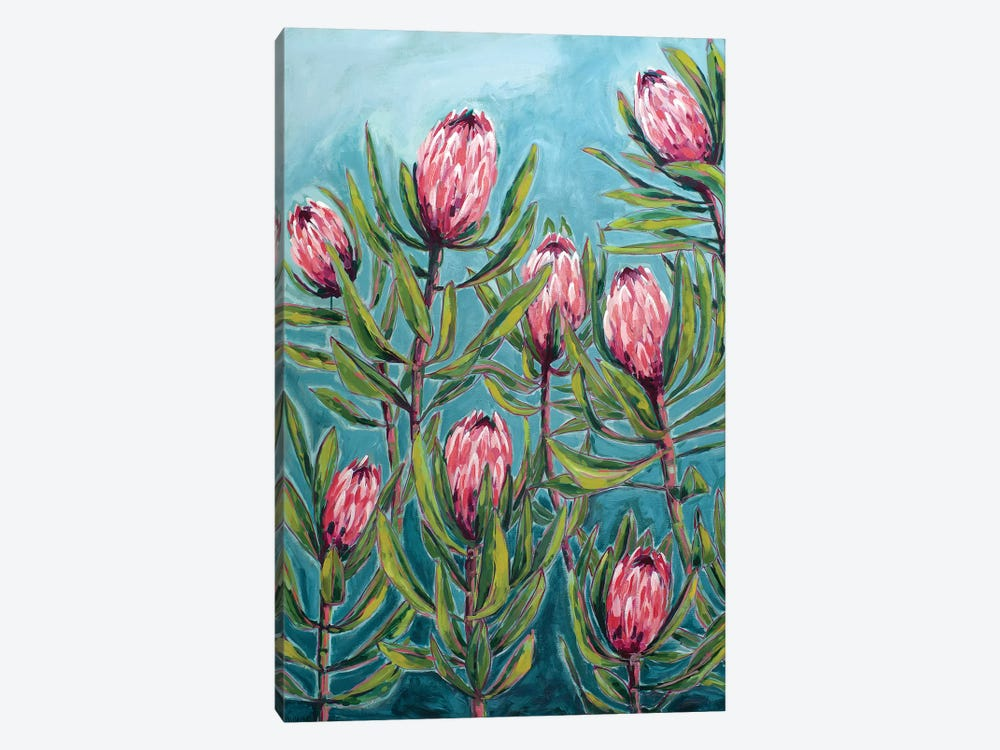 Pink Protea Painting by Sweet William 1-piece Art Print
