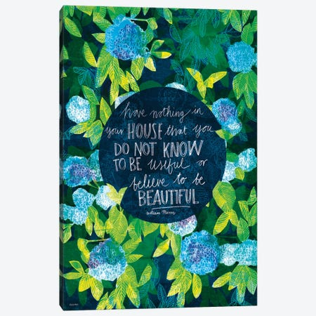 William Morris Canvas Print #PMI5} by Sweet William Canvas Print
