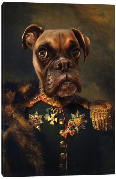 Rocky General I Canvas Art Print