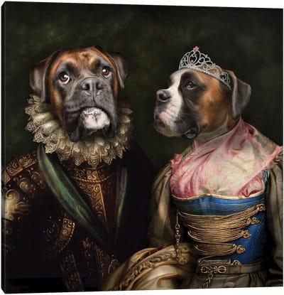 Ruby & Steve Canvas Art Print