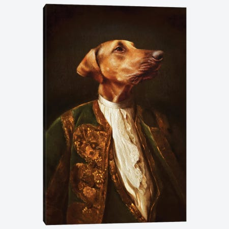 Scrappy Canvas Print #PMP110} by Pompous Pets Canvas Art
