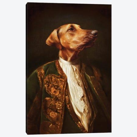 Scrappy Canvas Print #PMP110} by Pompous Pets Canvas Art