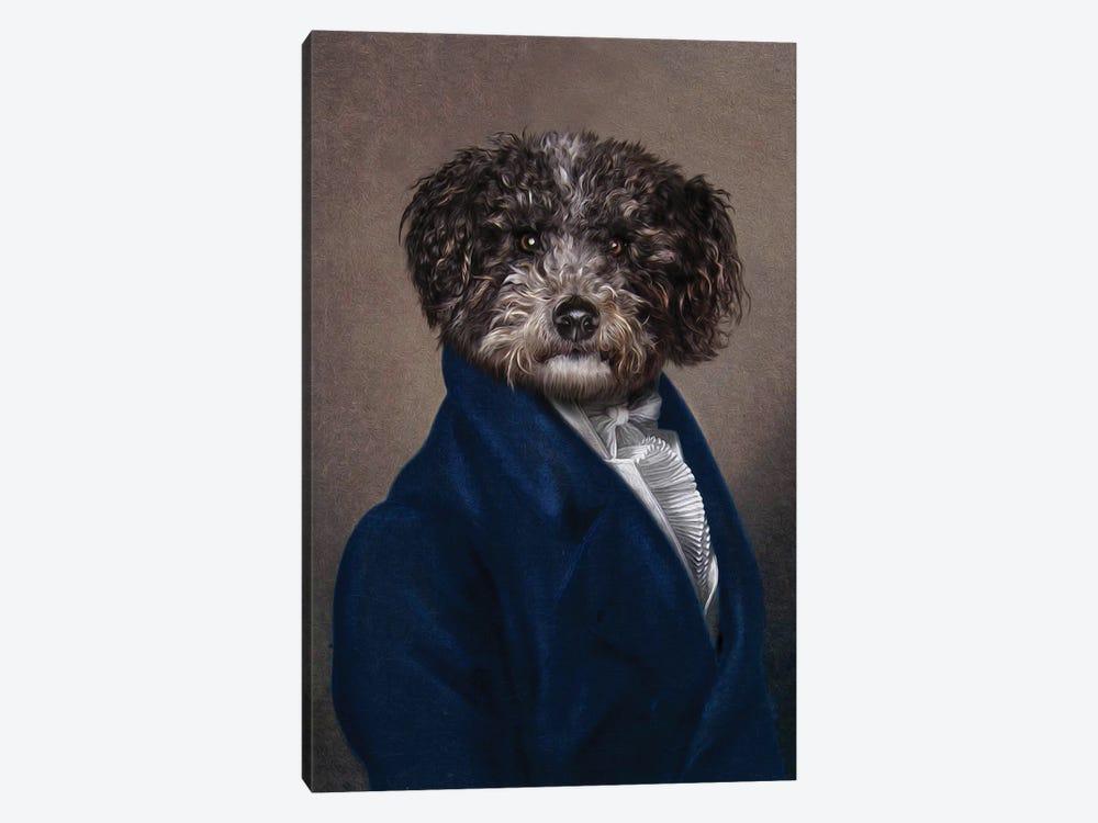 Spencer by Pompous Pets 1-piece Canvas Art Print