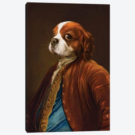 Stanley Canvas Print #PMP116} by Pompous Pets Canvas Art Print