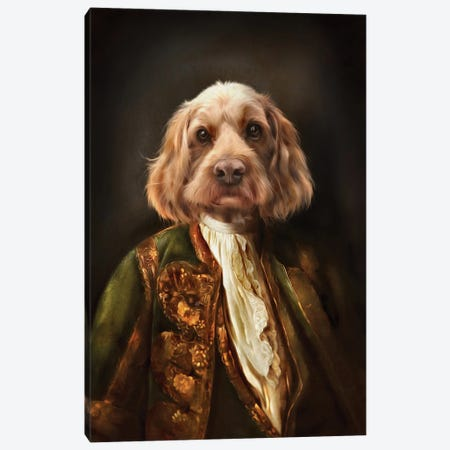 Basil Canvas Print #PMP11} by Pompous Pets Art Print