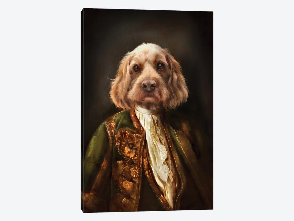 Basil by Pompous Pets 1-piece Canvas Artwork