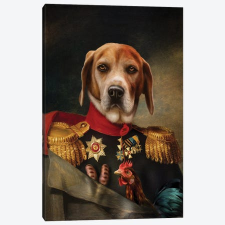 Steve Canvas Print #PMP121} by Pompous Pets Canvas Print