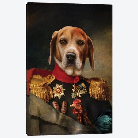 Steve Canvas Print #PMP121} by Pompous Pets Canvas Print