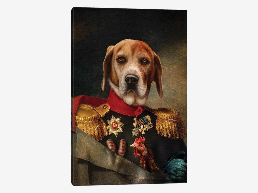 Steve by Pompous Pets 1-piece Canvas Art Print