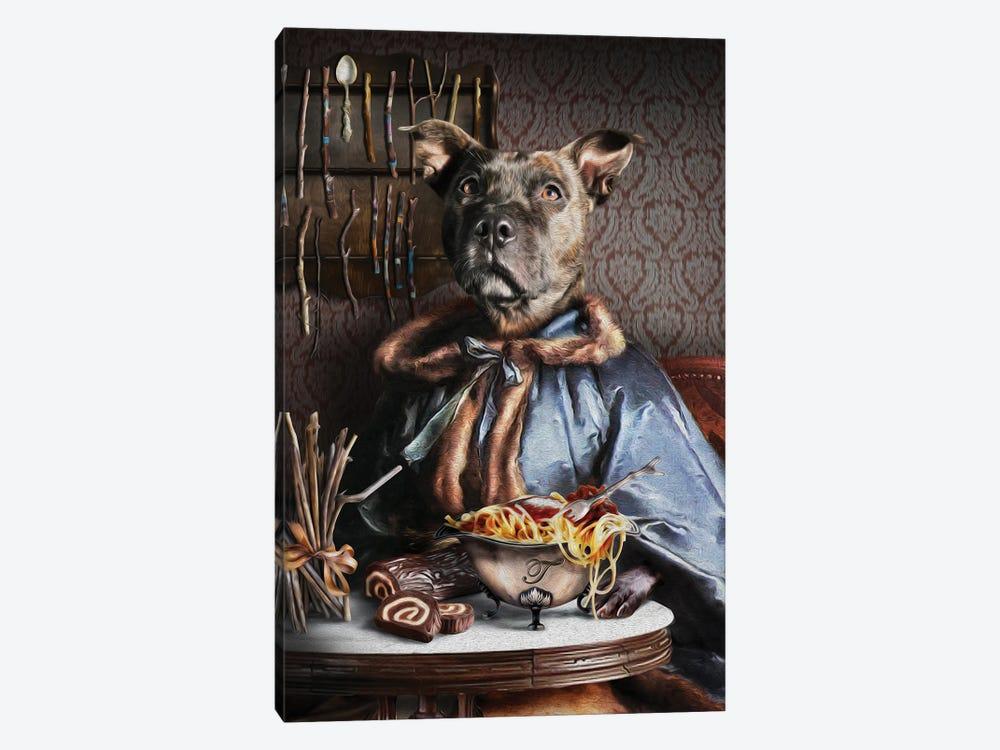 Tiggy by Pompous Pets 1-piece Canvas Art Print