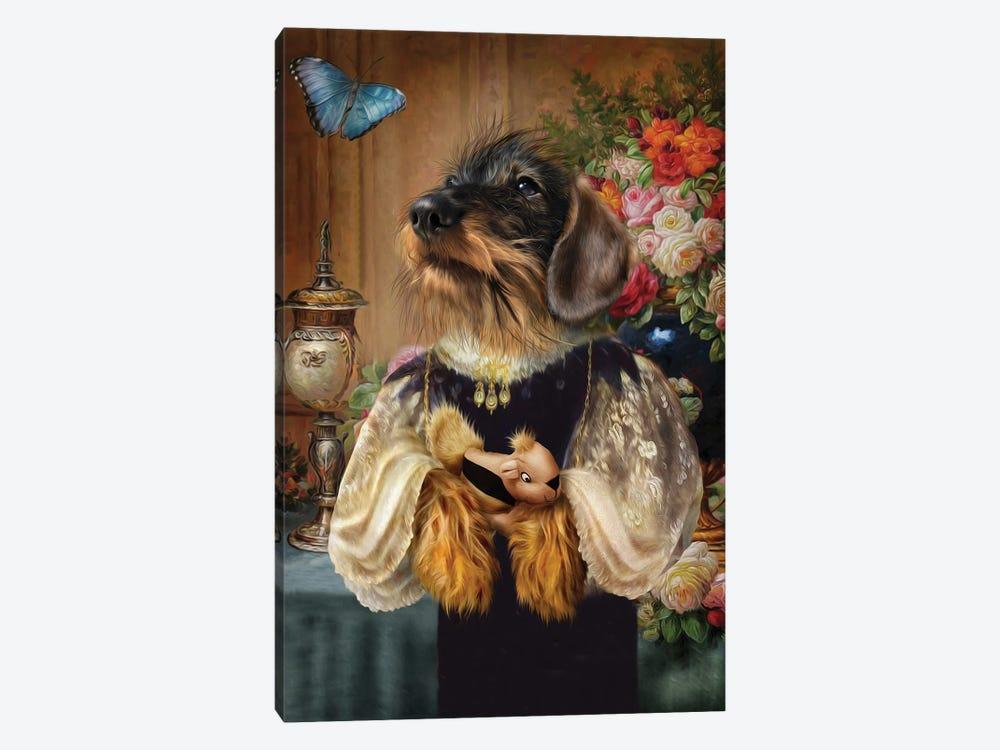 Toni by Pompous Pets 1-piece Canvas Art Print