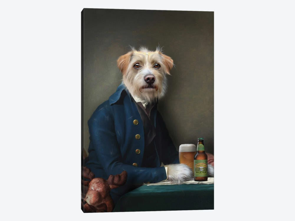 Vice President by Pompous Pets 1-piece Canvas Art