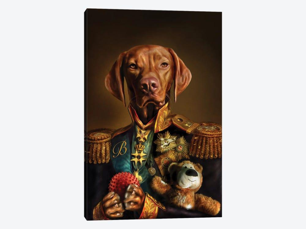 Bertie by Pompous Pets 1-piece Canvas Wall Art