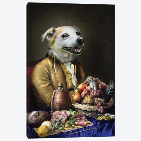 Blitzen Canvas Print #PMP14} by Pompous Pets Canvas Art