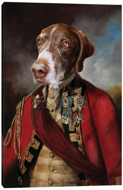Buster I Canvas Art Print