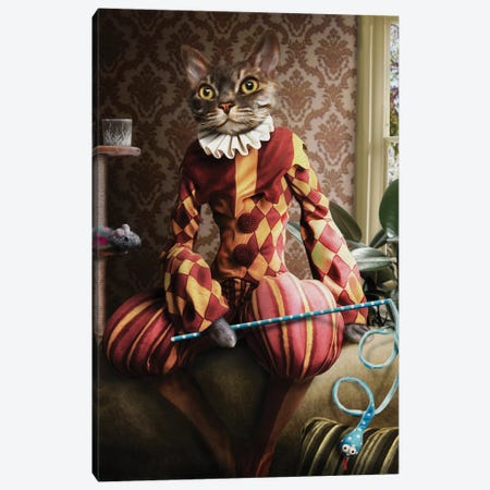 Buster II Canvas Print #PMP24} by Pompous Pets Canvas Art Print