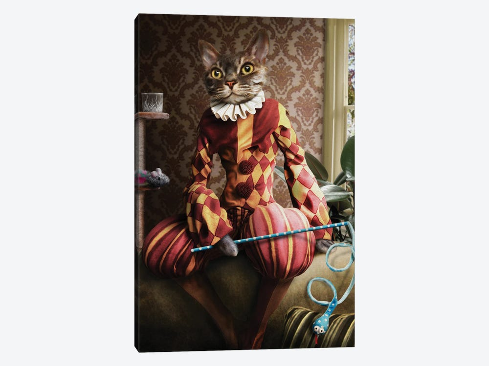 Buster II by Pompous Pets 1-piece Canvas Wall Art