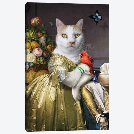 Carrot Canvas Print #PMP25} by Pompous Pets Canvas Print