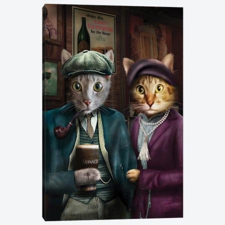 Chilli & Django Canvas Print #PMP27} by Pompous Pets Canvas Art Print