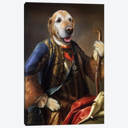 Dazzle Canvas Print #PMP31} by Pompous Pets Art Print