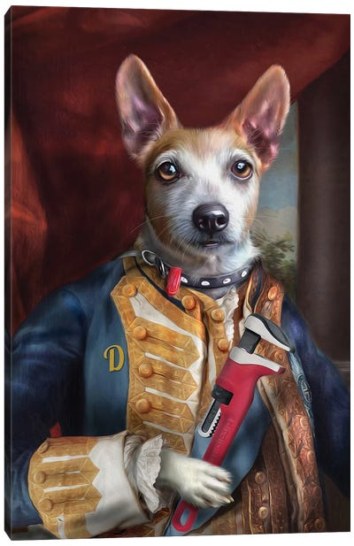 Dingo Canvas Art Print