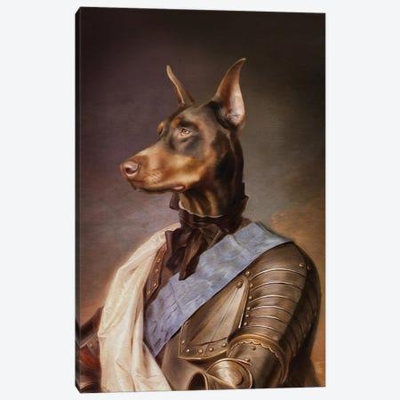 Doberman Canvas Print #PMP33} by Pompous Pets Canvas Art Print