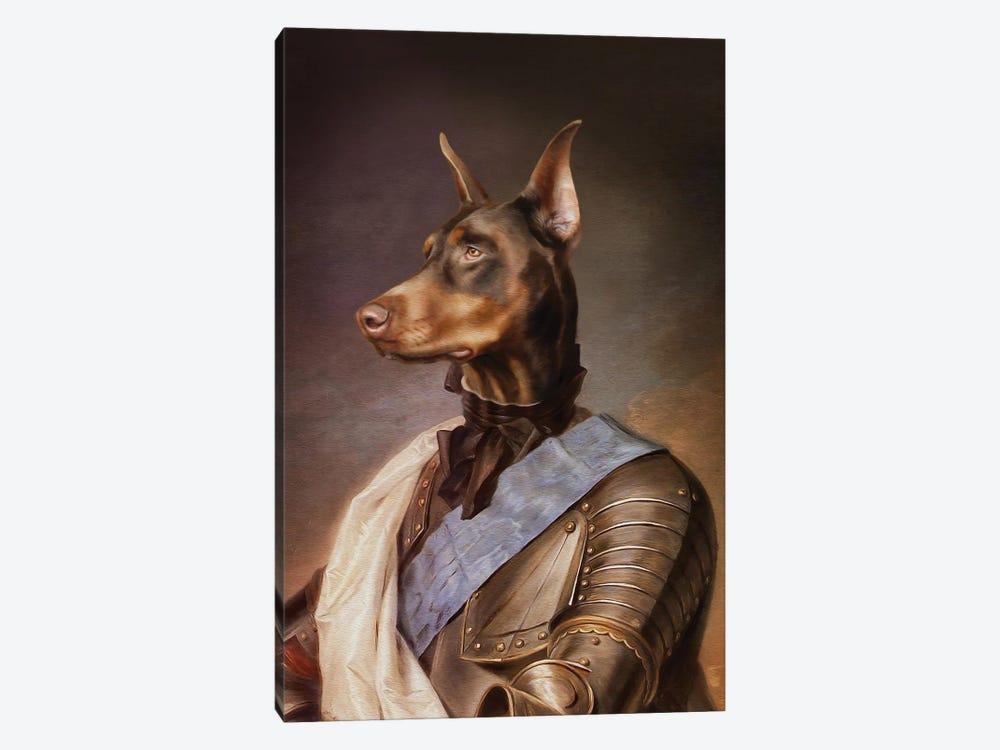 Doberman by Pompous Pets 1-piece Canvas Wall Art