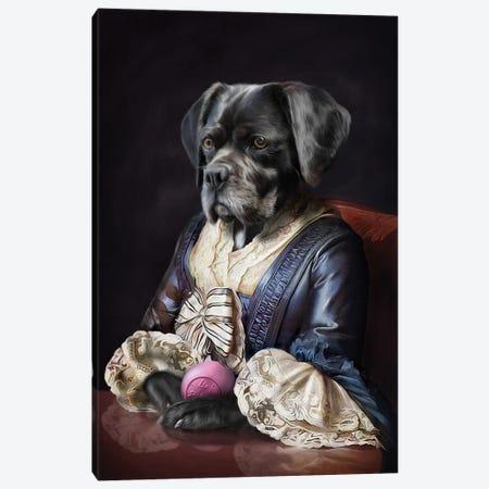 Domino Canvas Print #PMP34} by Pompous Pets Canvas Artwork