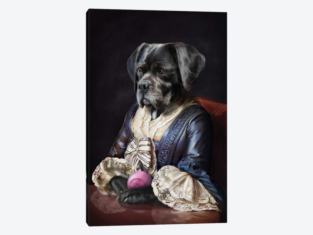 Domino by Pompous Pets 1-piece Art Print
